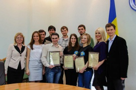 The competition for the prize of the rector, the Interactive business training «VIAL +» of KINT company