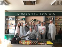Excursion to the Ahmad Tea London factory